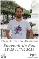 Nicolas Bodin , 17 tournants, Souvenir de Pau, Etape du Tour 2014, Pau-Hautacam
