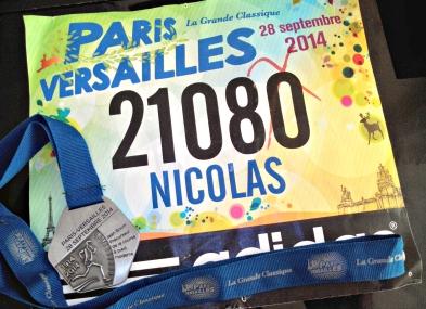 Dossard Paris-Versailles 2014
