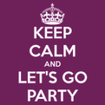 Copyright Keepcalm - keep-calm-and-let-s-go-party-3- 17 Tournants