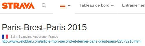 Copyright Strava - Page Club Paris-Bres-Paris 2015 - 17 Tournants