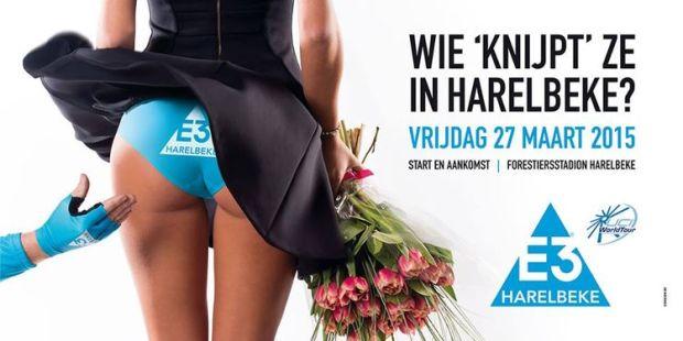 Affiche du Grand Prix cycliste de l'E3 - 27 mars 2015 à Harelbeke